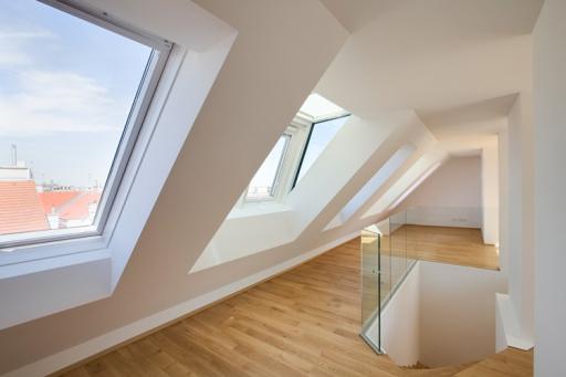 MAXIMILIAN HAIDACHER / ARCHITEKTURFOTOGRAFIE Dachgeschosswohnung, Engerthgasse, Wien