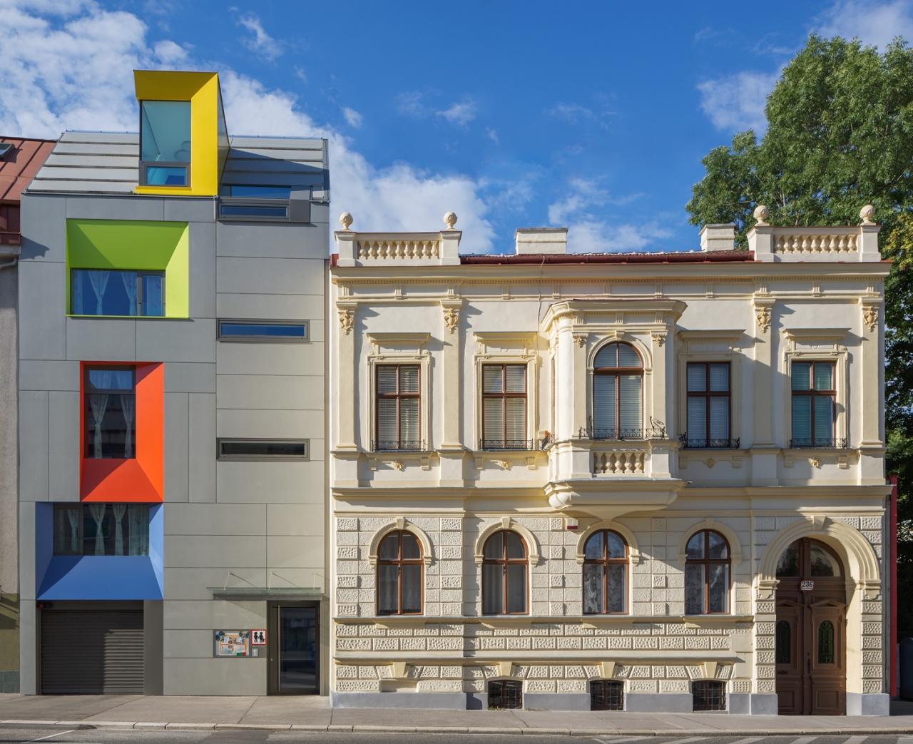 MAXIMILIAN HAIDACHER / ARCHITEKTURFOTOGRAFIE Kindergarten und Wohnbau, 1140 Wien