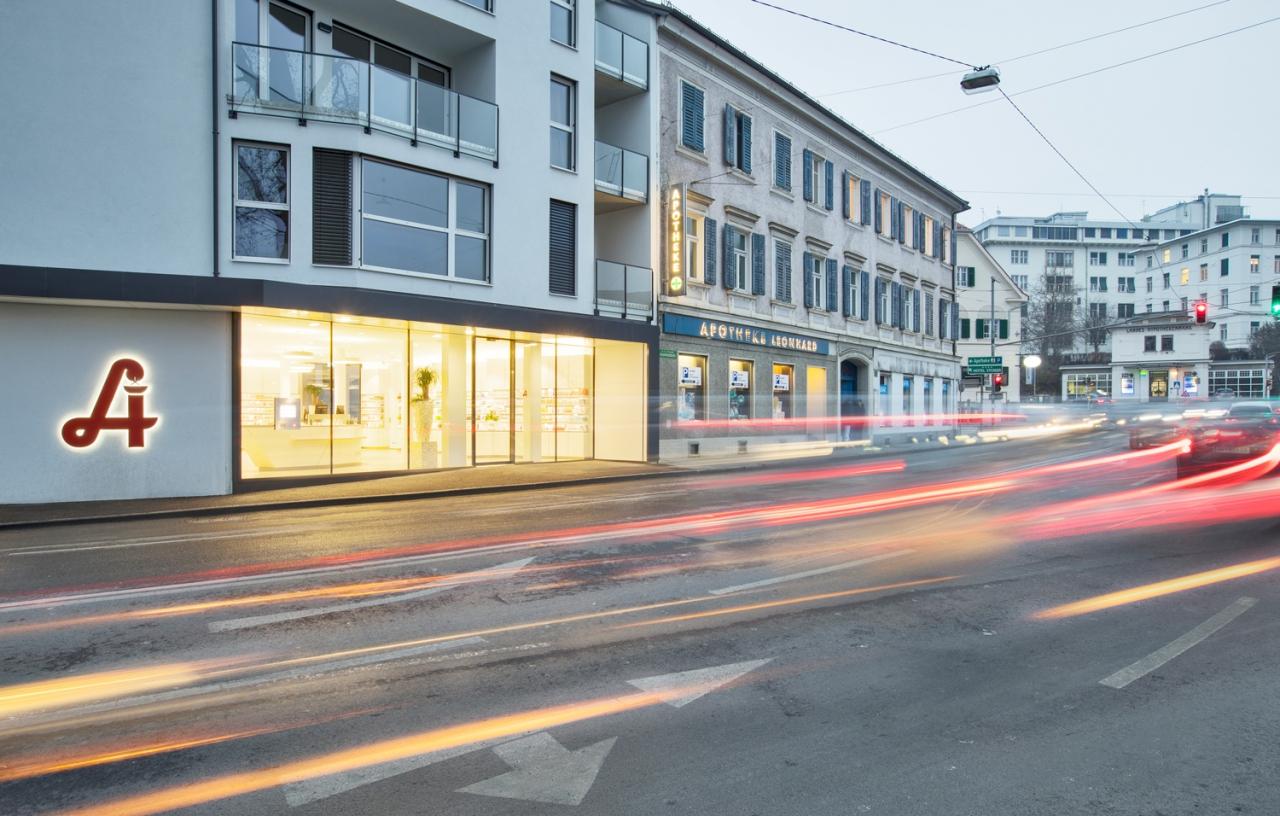 MAXIMILIAN HAIDACHER / ARCHITEKTURFOTOGRAFIE Apotheke L, Graz