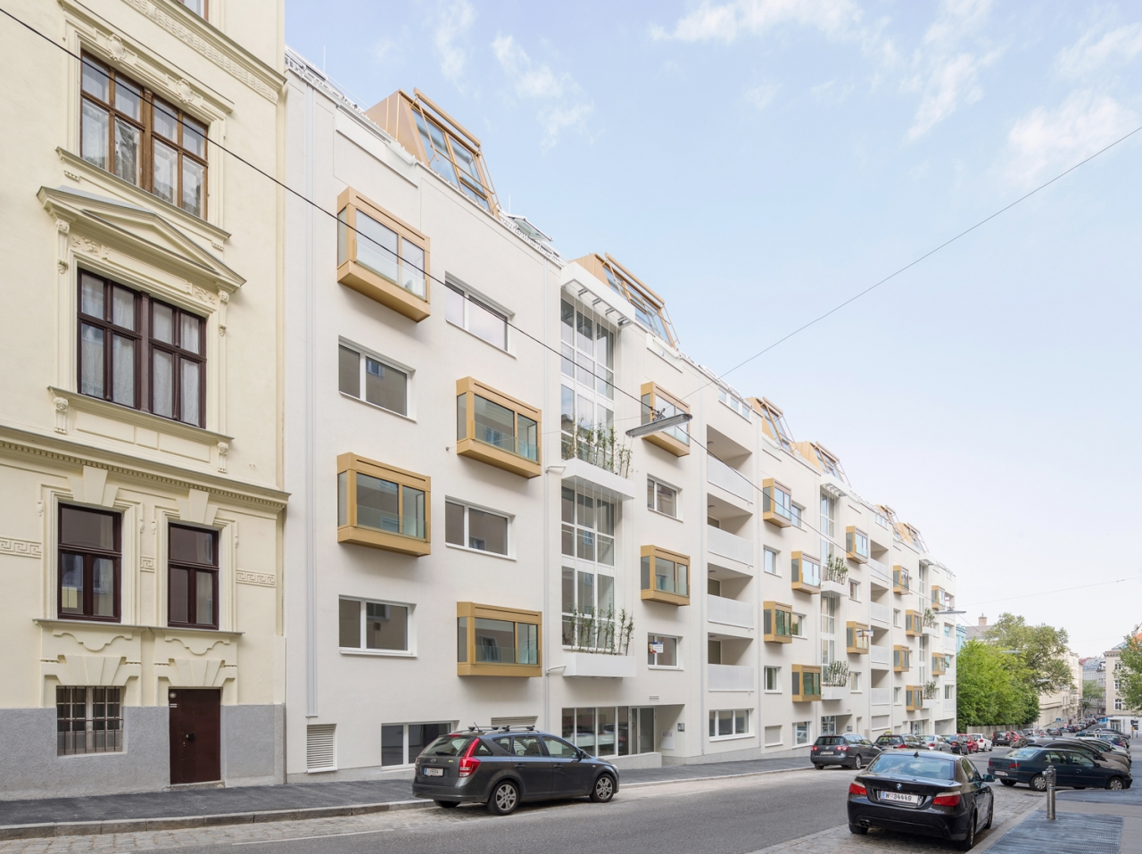 MAXIMILIAN HAIDACHER / PHOTOGRAPHY Wohnbau Graf-Starhemberg-Gasse, Wien