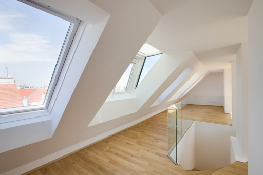 MAXIMILIAN HAIDACHER / PHOTOGRAPHY Dachgeschosswohnung, Eggerthgasse, Wien
